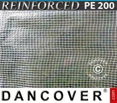 Tarpaulin 8x10 m PE 200 g/m² Clear