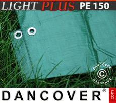 Tarpaulin 10x15 m PE 150 g/m² Green