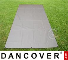 Tarpaulin/Ground cover 2.6x3.1 m PVC, Grey