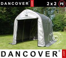 Tents PRO 2x2x2 m PE, Grey
