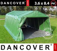 Tents PRO 3.6x8.4x2.68 m PVC, with ground cover, Green/Grey