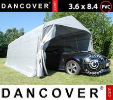 Tents PRO 3.6x8.4x2.68 m PVC, Grey