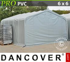Tents PRO 6x6x3.7 m PVC, Grey