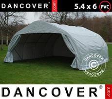 Tents 5.4x6x2.9 m PVC, Grey