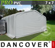 Tents PRO 7x7x3.8 m PVC, Grey