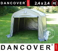 Tents PRO 2.4x2.4x2 m PE, Grey
