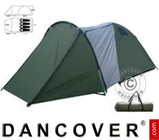 Camping tents, 4 persons, Green/Grey