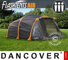 Camping tents FlashTents® Air, 3 persons, Orange/Dark Grey