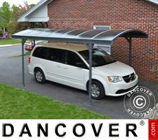 Carport Vitoria, 2.91x5.01 m, Grey