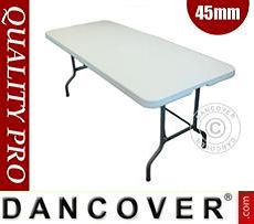 Folding Table 182x74x74 cm, Light grey (10 pcs.)