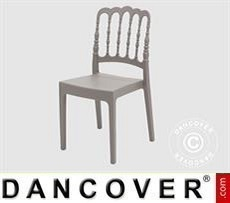 Chair, Napoleon, Grey, 6 pcs.