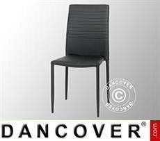 Dining chair, Firenze, Black/Black, 4 pcs.