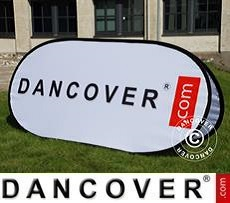 Pop up banner, Premium, 200x100 cm