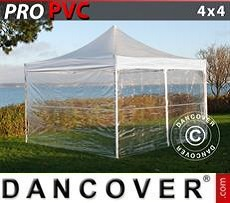 Party Marquee PRO 4x4 m Clear, incl. 4 sidewalls