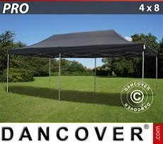 Pop Up Marquee PRO 4x8 m Black