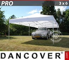 Pop Up Marquee PRO 3x6 m White