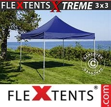Racing tent Xtreme 3x3 m Dark blue
