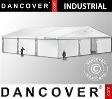 Industrial Storage Hall 15x15x6,03 m w/sliding gate, PVC, White