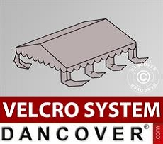 Roof cover for Marquee UNICO, PVC/Polyester, 4x4m, Sand
