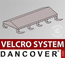 Roof cover for Marquee UNICO, PVC/Polyester, 5x8m, Sand