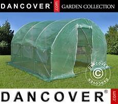 Greenhouse 3x3x2 m, 9 m², Green