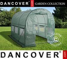 Greenhouse 2x3x2 m, 6 m², Green