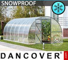 Greenhouse 12 m², 3x4 m, Silver