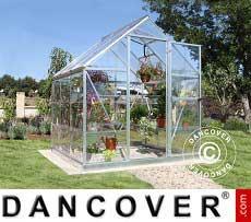 Greenhouse 3.4 m², 1.85x1.86x2.08 m, Silver