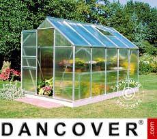 Greenhouse 6.2 m², 1.93x3.19x1.95 m, Aluminium