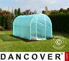 Polytunnel Greenhouse 2x4x2 m, 8 m², Transparent