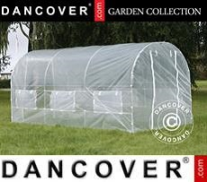 Polytunnel Greenhouse 2x4.5x2 m, 9 m², Transparent