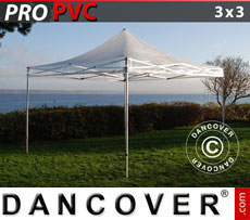 Pop up gazebo FleXtents PRO 3x3 m Clear