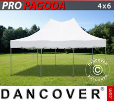 Pop up gazebo FleXtents PRO Peak Pagoda 4x6 m White