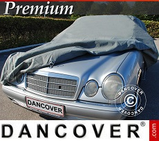 Car Cover Premium, 4.96x1.79x1.27 m, Grey