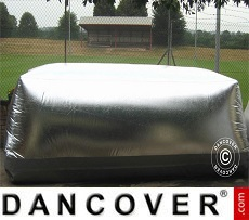 Carcoon 5.6x2 m Silver, Outdoor