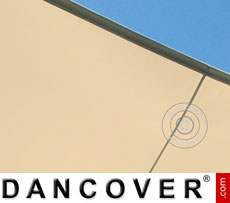 Aliseo 2.5x2.5 m PVC awnings