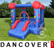 Bouncy Castle 2.8x2.1x1.85 m Blue/Red