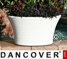 Planter Narciso 64x43x34 cm, White