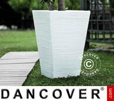 Planter Rosa 43.5x53 cm, White
