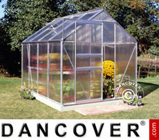 Greenhouse Halls Popular Poly 1.93x2.57x1.95 m, Aluminium