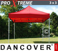 Pop up gazebo FleXtents Xtreme 3x3 m Red
