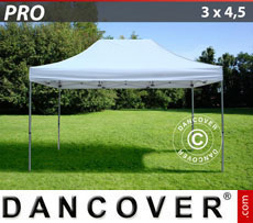 Pop up gazebo FleXtents PRO 3x4.5 m White
