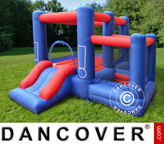 Bouncy Castle 3.6x2.7x1.8 m Blue/Red
