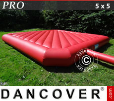 Bouncy cushion 5x5m, Red, rental quality