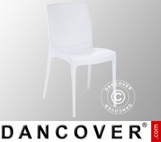 Chair, Boheme, White, 6 pcs.