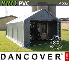Storage shelter PRO 4x6x2x3.1 m, PVC