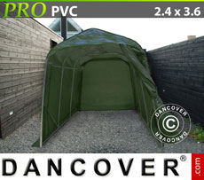 Portable Garage PRO 2.4x3.6x2.4 m PVC, Grey