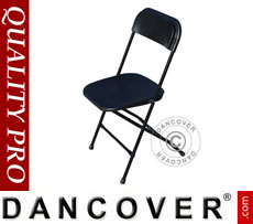 Folding Chair, black 44x44x80cm (24 pcs.)