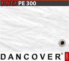 Tarpaulin 6x12 m PE 300 g/m² White