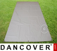 Ground cover 2.8x5.2 m PVC Grey
